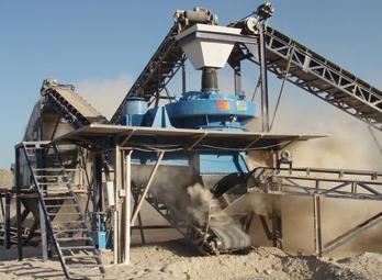 新型花岗岩制砂生产线