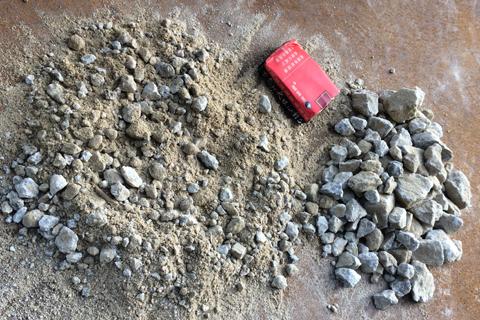 花岗岩制砂生产工艺