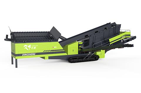 TAS履带式移动筛分站