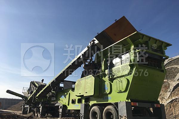移动式砂石生产线