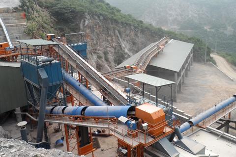 石灰石制砂生产工艺