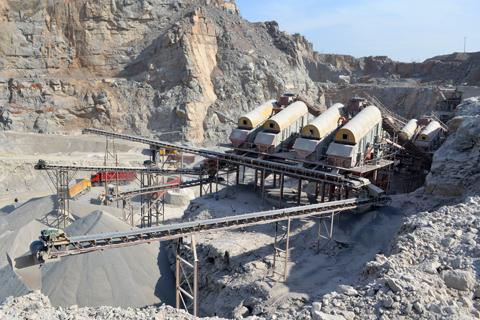 300t/h砂石生产线